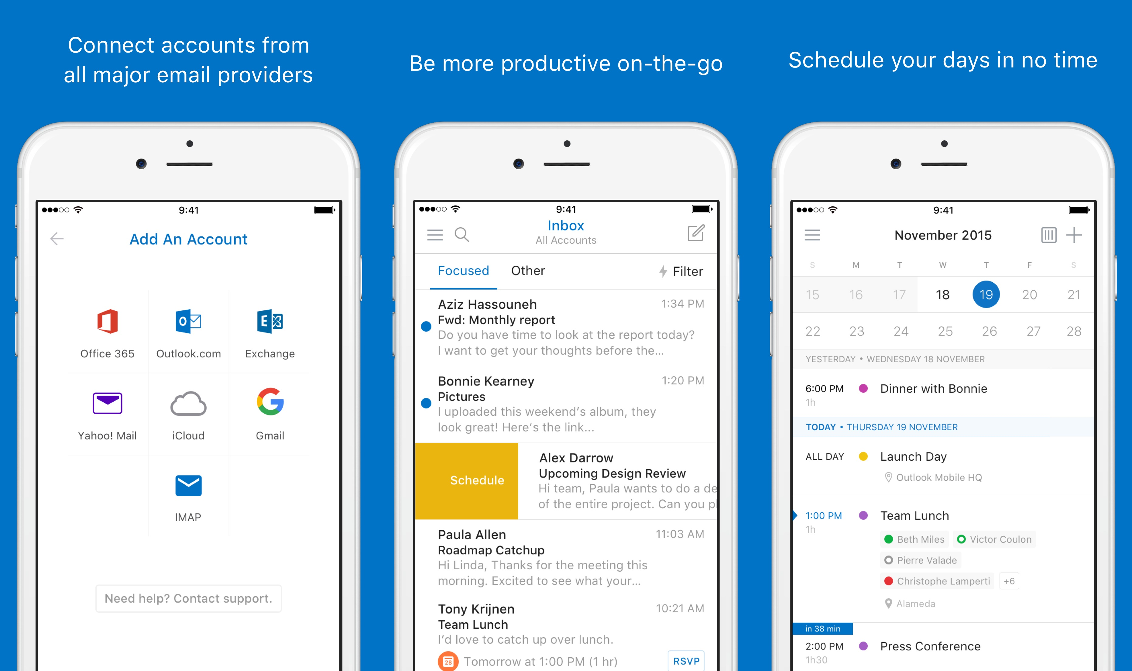 outlook for ios revamp